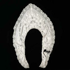 Antique victorian 1800s handmade pelerine collar!